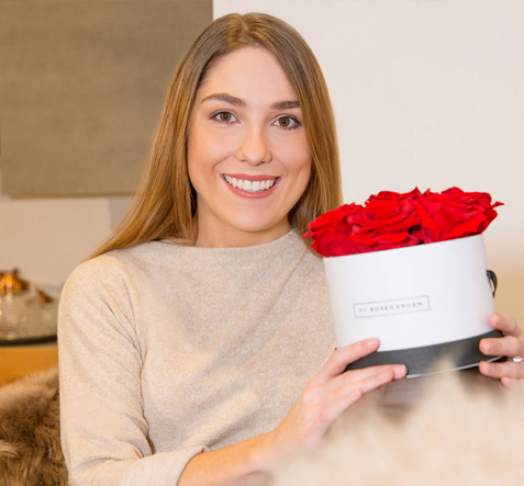 Glücklich mit My Rosegarden Rosenbox