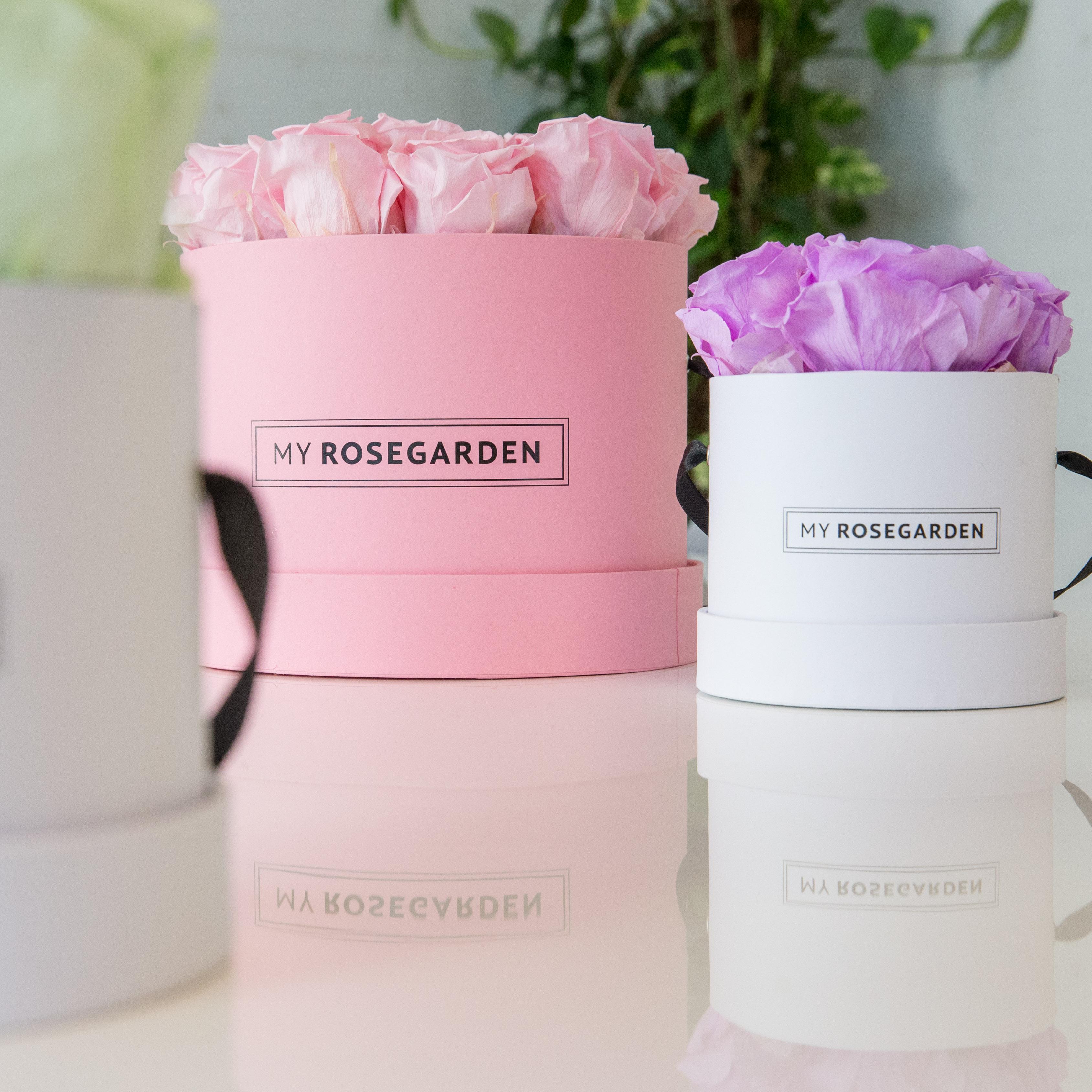 Flowerbox Pastellfarben