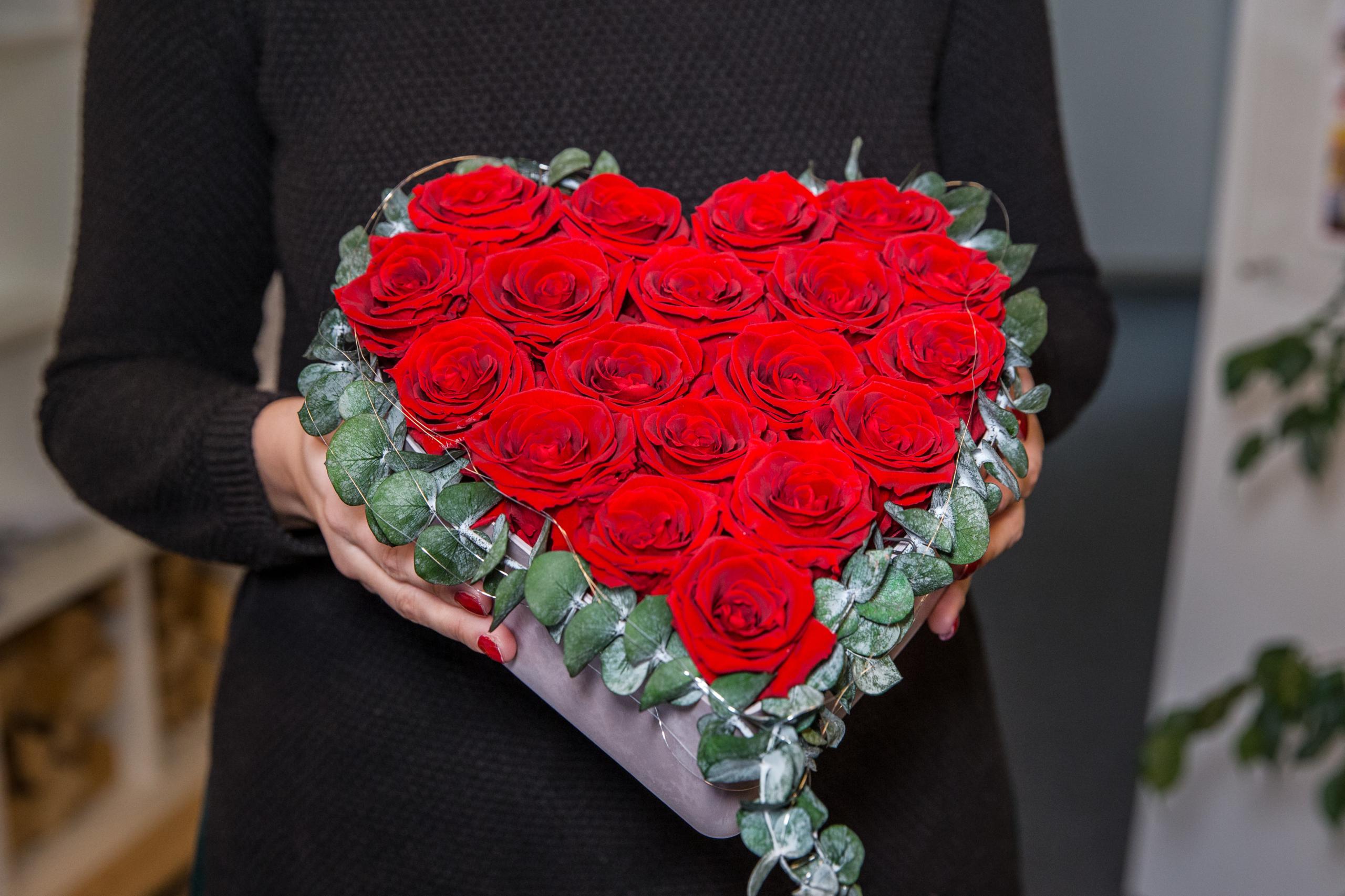Sonderangebote zum Valentinstag